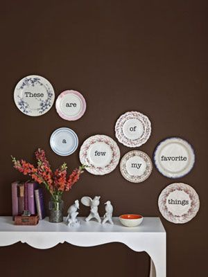 country living plates